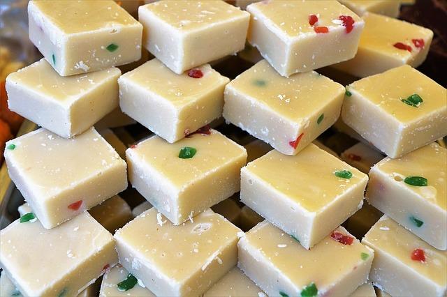 kostky sýra