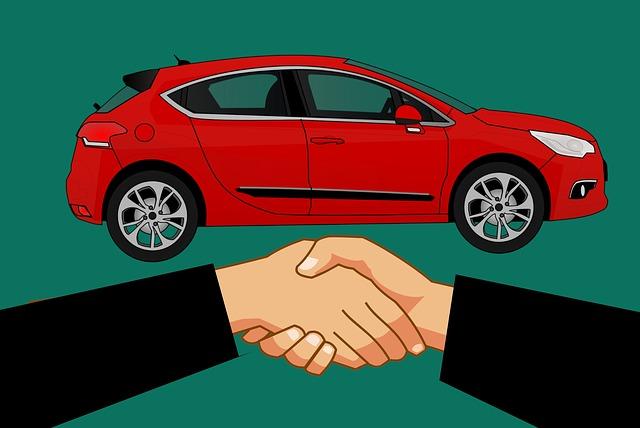 dohoda o autě
