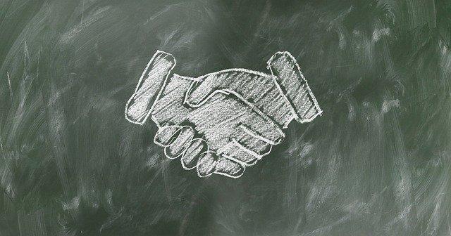 obrázek potřesení rukou