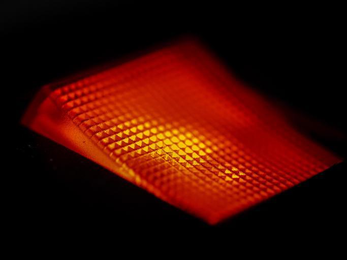 svítící vypínač