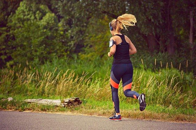 venkovní běhání